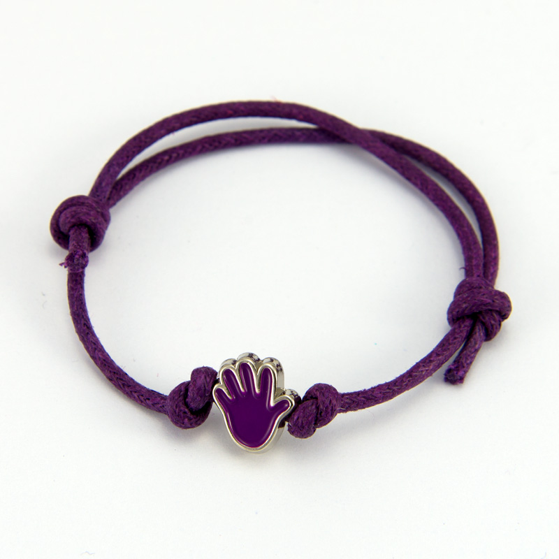 wristband bulliesout hand bullying shop bracelet purple